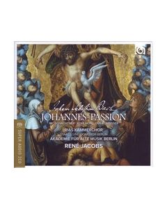 Johann Sebastian BACH : Passion selon Saint Jean, par René Jacobs (2 CD/SACD + DVD)