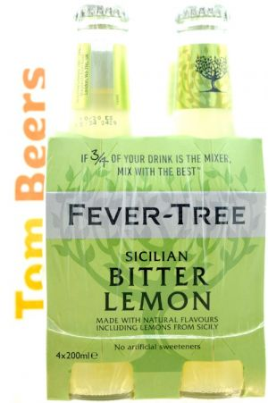 FEVER-TREE LEMON TONIC PACK 4