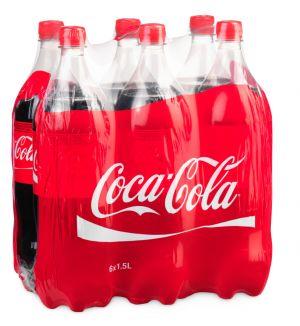 COCA-COLA PACK DE 6*1.5L