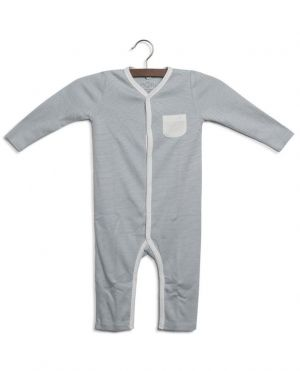 Pyjama bébé rayé en jersey