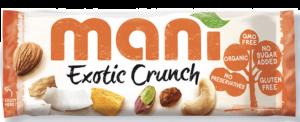 8 X Mani Exotic Crunch 50g