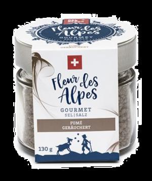 Fleur des Alpes sel Gourmet fumé