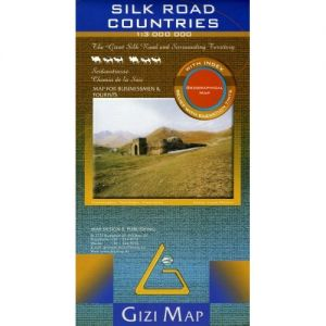 Silk road countries - 1/3 000 000 de  Collectif