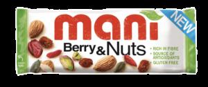 8 X Mani Berry Nutty 50g