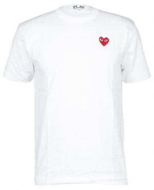 T-shirt en coton patch Coeur