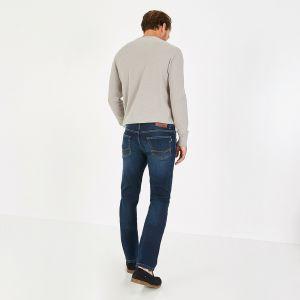 Jean slim fit bleu en denim ultra stretch
