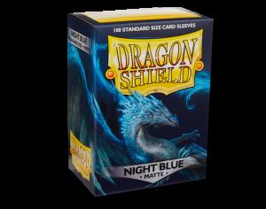Dragon Shield Standard - Mat Night Blue