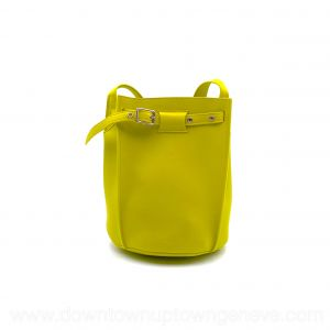 Céline bucket bag in mimosa yellow leather