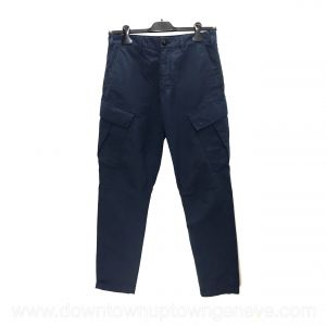 Stone Island pants in blue cotton