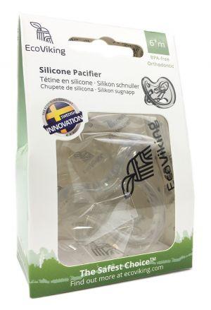 Tétine en silicone 6+ mois Pacifier Orthodon.