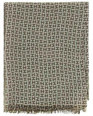 Écharpe légère imprimée monogrammes Radeosmall