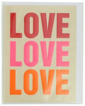 Carte Love avec enveloppe