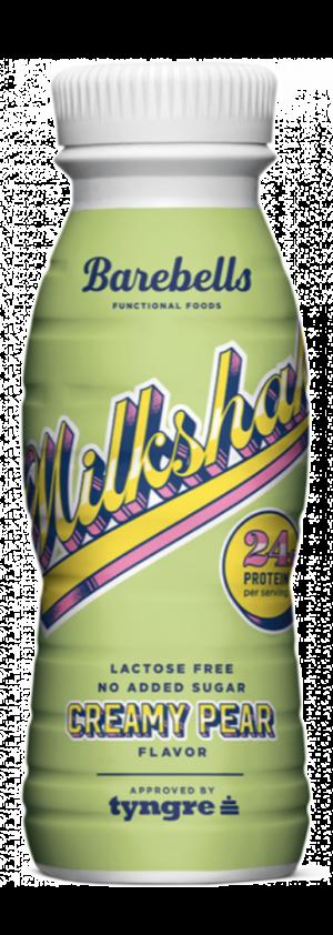 8 X Barebells Protein Milkshakes Creamy Pear 330ml