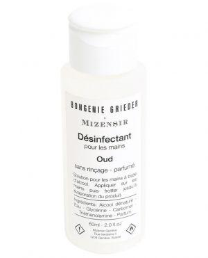 Gel désinfectant parfumé Oud - 60 ml