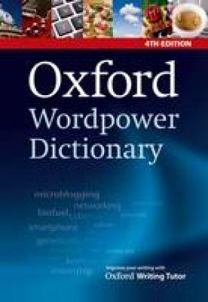 Oxford Wordpower Dictionary, 4th Edition de  Collectif