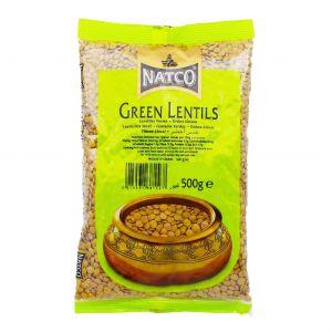 Lentilles vert 500 gr