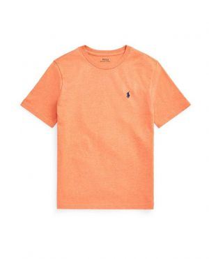 T-shirt à col rond garçon brodé Pony