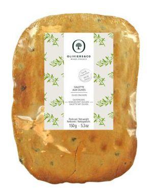 Galettes aux olives - sachet