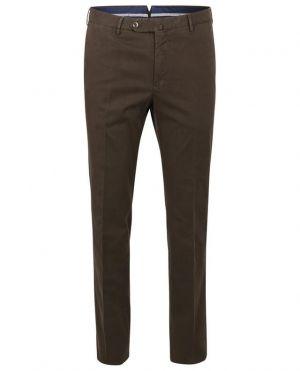 Pantalon en coton mélangé texturé Superslim Fit