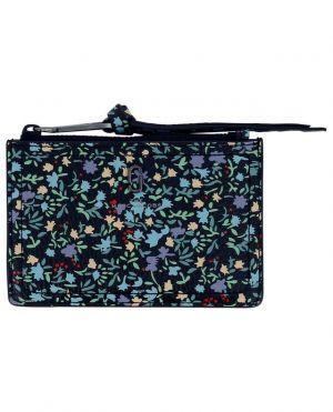 Porte-cartes zippé en cuir The Top Zip Ditsy Florals