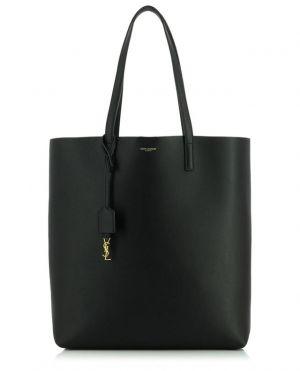 Sac cabas en cuir souple Shopping Bag N/S