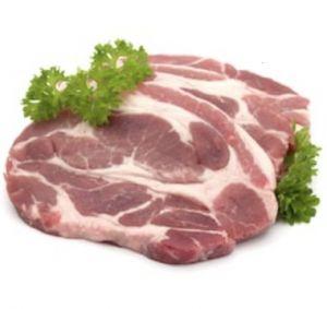 Tranche de cou de porc CH