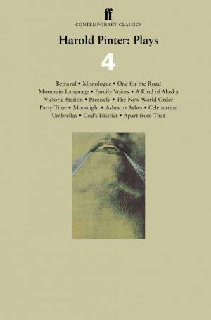 Harold Pinter: Plays 4 de  Harold Pinter
