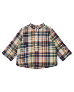 Chemise à carreaux bébé Matt
