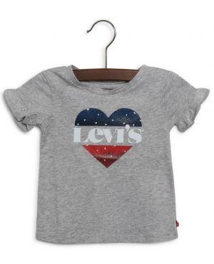 T-shirt bébé imprimé logo coeur