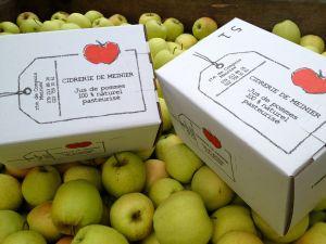 Jus de pomme 100% naturel