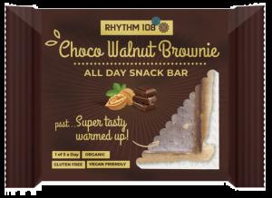 8 X RHYTHM 108 Choco Walnut Brownie 40g