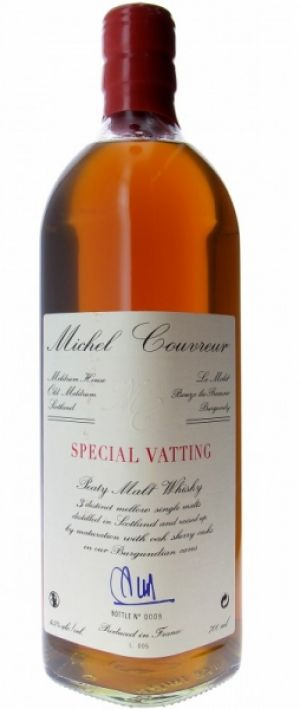 Malt Whisky Special Vatting - Michel Couvreur - 70 cl - Bouteille à l'unité