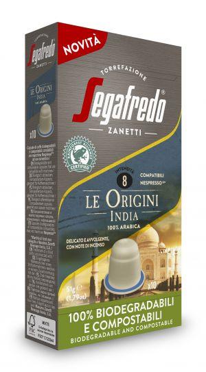 Origini India - Rainforest - boîte de 10 capsules - Capsules compatibles Nespresso*