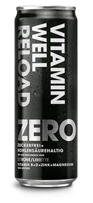 24 X VITAMIN WELL ZERO RELOAD Can 355ml