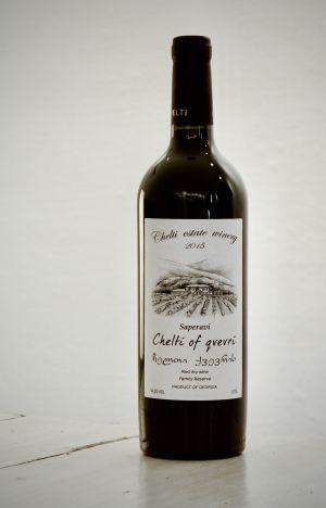 Saperavi Qvevri   Chelti Winery