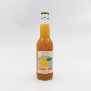 Limonade artisanale bio au jus d'orange sanguine