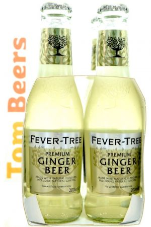 FEVER-TREE GINGER BEER PACK 4