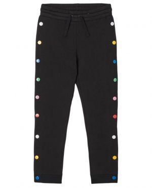 Pantalon de jogging fille à boutons pression