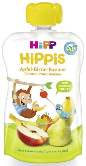 COMPOTE HIPP POMME, POIRE, BANANANE