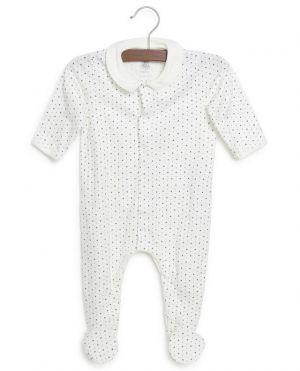 Dors-bien bébé en coton bio imprimé étoiles