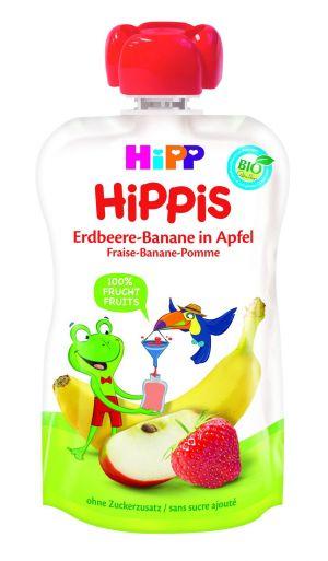 COMPOTE HIPP FRAISE ET BANANE POMME
