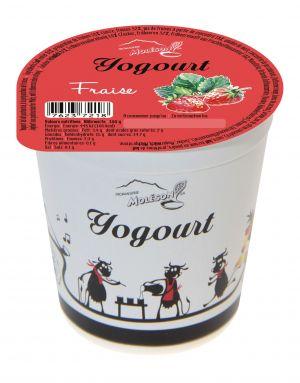 Yogourt au lait de vache - Fraise