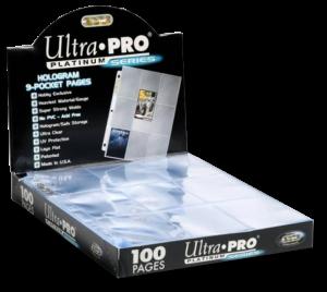 Ultra Pro: 100 feuilles de classeur Platinum