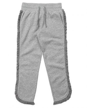 Pantalon de jogging en coton à franges Horse