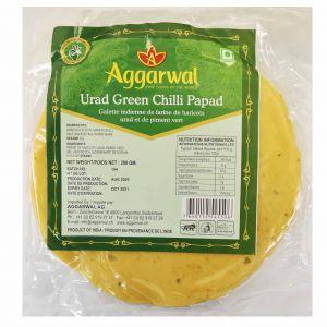 Papad piment vert 200 gr