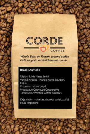 Brésil Corde Coffee