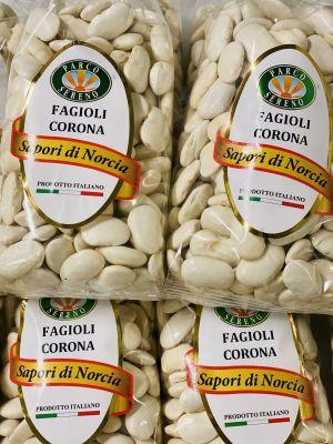 Haricots «fagioli corona» secs