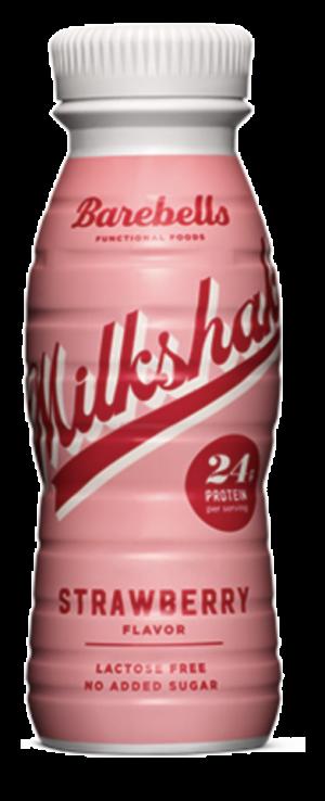 8 X Barebells Protein Milkshakes Strawberry 330ml