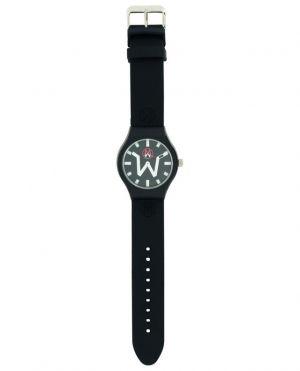 Montre avec bracelet en silicone noir Tokyo