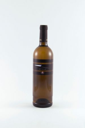 Style Blanc Chardonnay élevé en fût de chêne